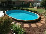 ideas for pools cool landscaping ideas for pools with simple