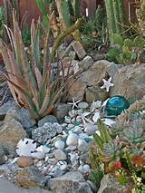 Seashells in the Garden- I do this too. Grandma did as well- My ...