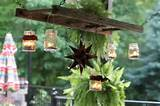 DIY Ladder Lantern Hanger – Amazing Rustic Look For Cheap ...
