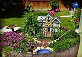 fairy garden ideas mini garden design miniature house pond garden