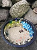 beach themed fairy garden fairy gardens pinterest