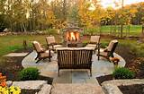 and garden outdoor stone barbecue brown mulch beautiful outdoor
