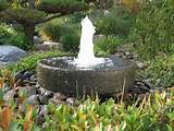 architecture beautiful garden fountains