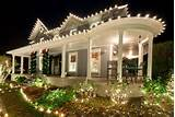 Christmas Lights - Wrap Around Porch | front porch dreams | Pinterest