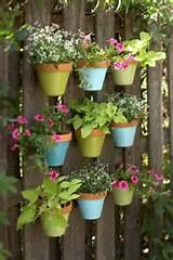gardening garden ideas painted garden pots hanging garden
