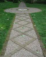 gardens small cheap gardeners creative inexpensive garden path ideas