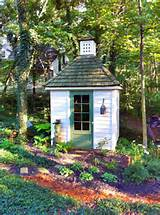 10 Cool Garden Potting Sheds » Small And Colorful Potting Shed