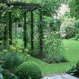 garden walkways create relaxing spaces