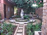 garden rooms it is a garden laid on regular lines with plants arranged