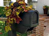 mailbox arrangement easy crafts and homemade decorating gift ideas