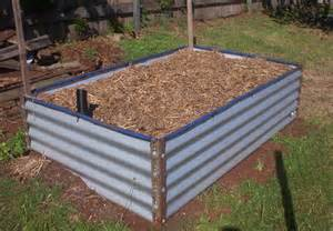 forum diy colorbond raised garden bed diy colorbond raised garden