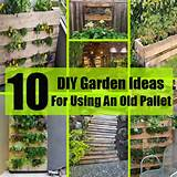 10 DIY Garden Ideas For Using An Old Pallet | DIY Home Things