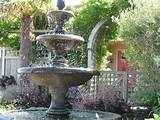 Backyard Fountain Designs | Garden Fountains and Ponds Ideas Photos.