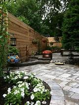 small / urban garden ideas | Out the backdoor Relaxation | Pinterest