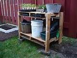 Pallet Potting Bench Useful for Different Chores | 101 Pallets