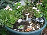 make a fairy garden by kelli via flickr gardening pinterest