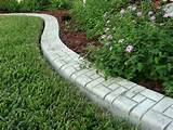 Landscape Edging Stones | example of the prestigious appearance that ...