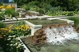 wassergarten wasserfall feng shui gestalten ideen designs