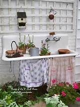 Party Junk 186 - potting benches! - Funky Junk InteriorsFunky Junk ...