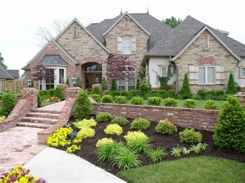 ... Home Gardens: MODERN FRONT YARD LANDSCAPING AND HOME GARDEN DESIGN