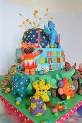In the night garden | Cbeebies cakes | Pinterest