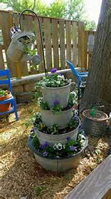 Fun idea | Garden Ideas/tips | Pinterest