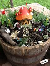 cute diy fairy garden! | Garden ideas | Pinterest