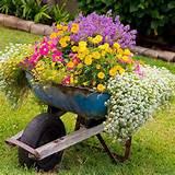 decoracion de jardines con macetas