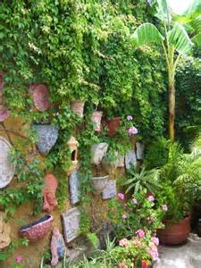 ... Wall - Patio Courtyard Vertical Garden - Vertical Garden Ideas