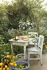 baguette, flowers, garden, green, shabby - image #201257 on Favim.com