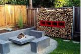 Fire Pit Designs For Small Yards | Fire Pit Landscaping Ideas, Design ...