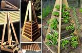 Vertical Pyramid Garden Planter - DIY - iCreatived