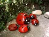 ... Rocks for Artistic Yard and Garden Designs, 40 Cute Rockpainting Ideas