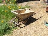 Pallet Wheelbarrow | Garden Ideas | Pinterest