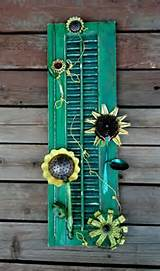 sunflowers yards outdoor neat ideas junk yards yards art yards ideas