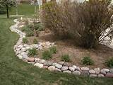 edging mulch drainage solutions des moines iowa landscaping