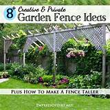 Creative & Private Garden Fence Ideas | DIY Home Sweet Home