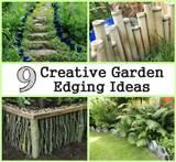 Creative Garden Edging Ideas | CDxND.com - Home Design in Pictures