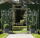 garden wedding amazing architectural elements from restoration