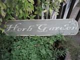 herb garden sign herbs pinterest