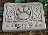 home pet sympathy gifts personalized celtic pet memorial garden