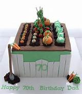 Vegetable Garden cake | cake decorating ideas | Pinterest