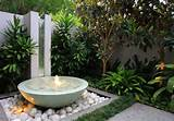 Outdoor Garden Wall Fountains Design Ideas Models | Home Design
