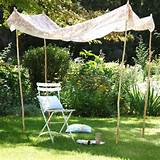 ... Outdoor Curtains, Sunshades and Canopy Designs for Summer Decorating