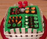 Cakes, Amazing Cakes, Garden Cakes, Gardens Cakes Ideas, Vegetables ...