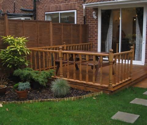 Garden Decor Design Ideas Decking