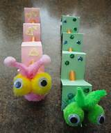 craft home and garden ideas pencil caterpillars