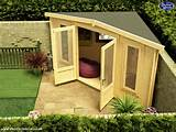 Is your garden too small for a Log Cabin? Think again! - Dunster House ...