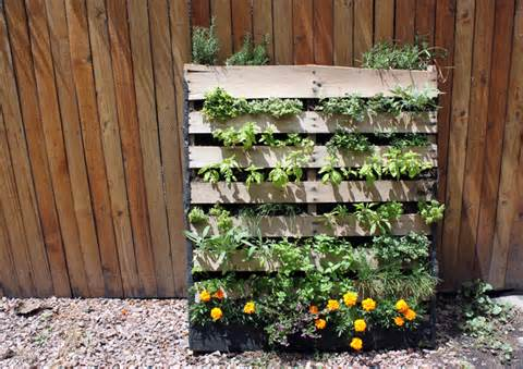 Garden inspiration via The Improvised Life , detailed how-to at Life ...