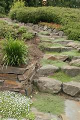 Natural Rock Garden Patio Stairs Landscape Ideas Best Patio garden ...